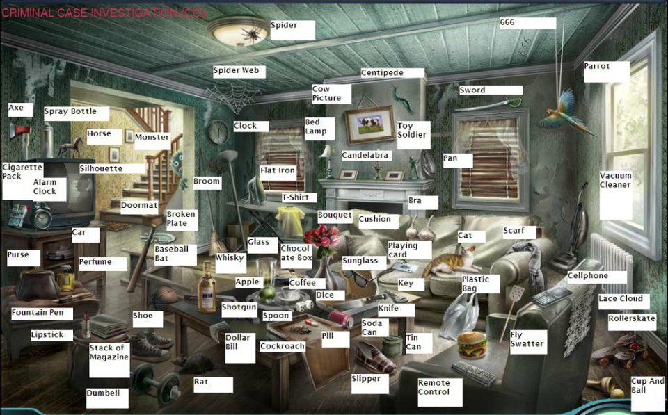 Criminal Case Living Room