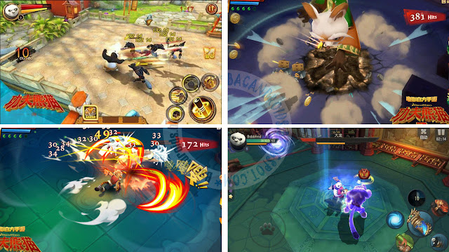 download Game Kungfu Panda 3 APK For Android Terbaru