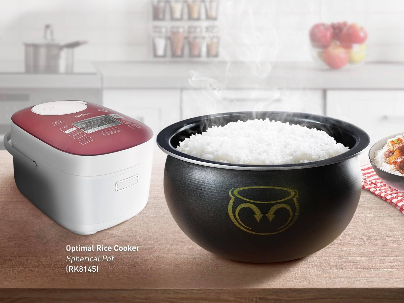 8fb9ffaee TEFAL SPHERICAL POT RICE COOKERS