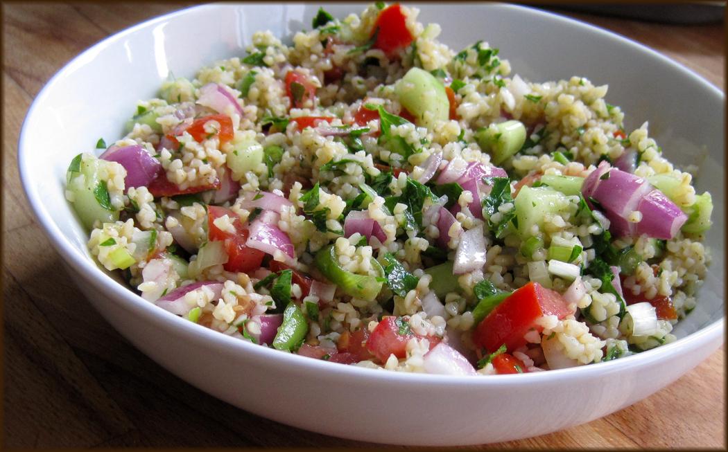 Tabbouleh in a bowl