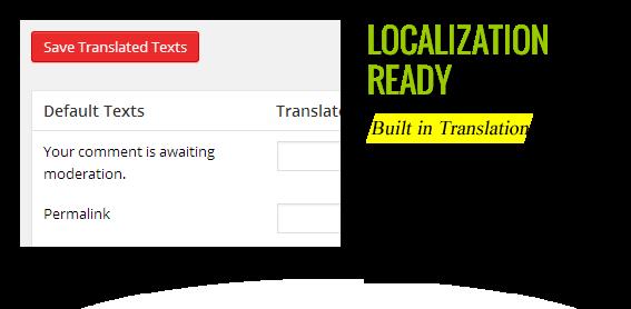 Localization Translation Ready - Maginess – Flexible Magazine WordPress Theme