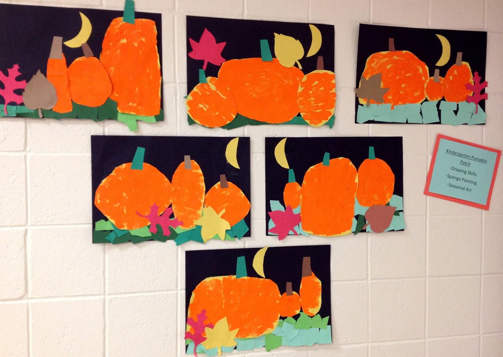 Art With Mr Giannetto Kindergarten Pumpkins