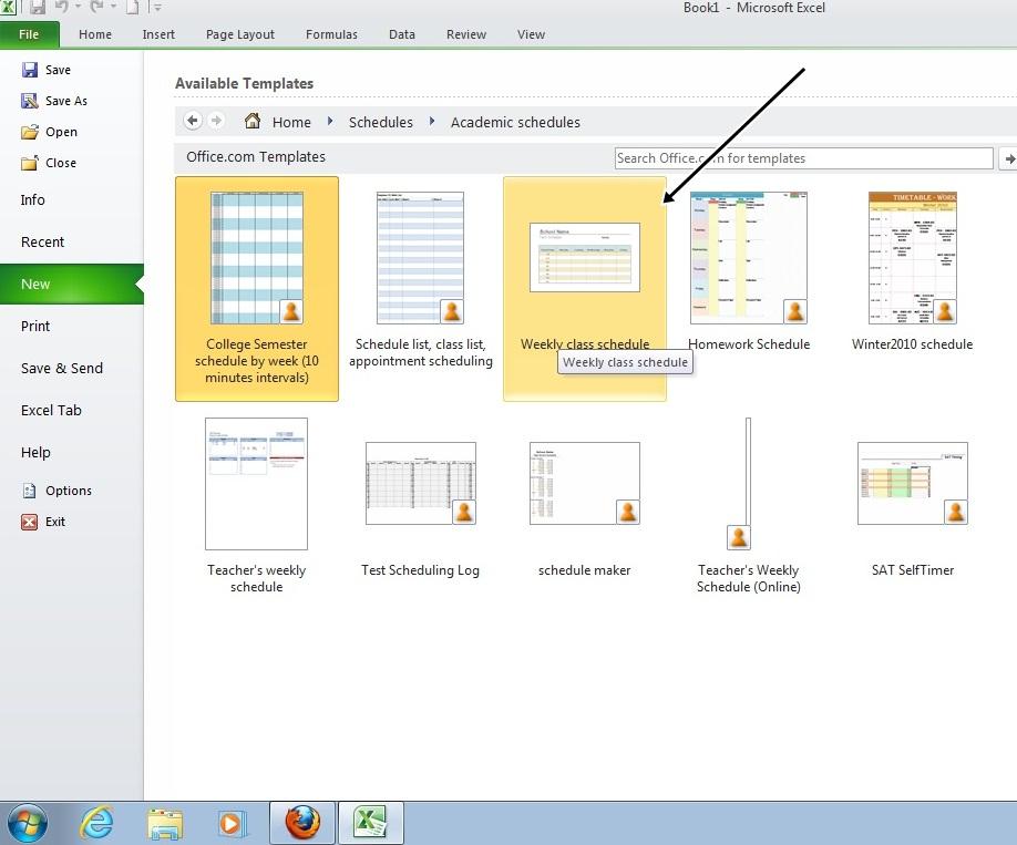 Mts Nw Selayar Membuat Jadwal Pelajaran Dengan Excel