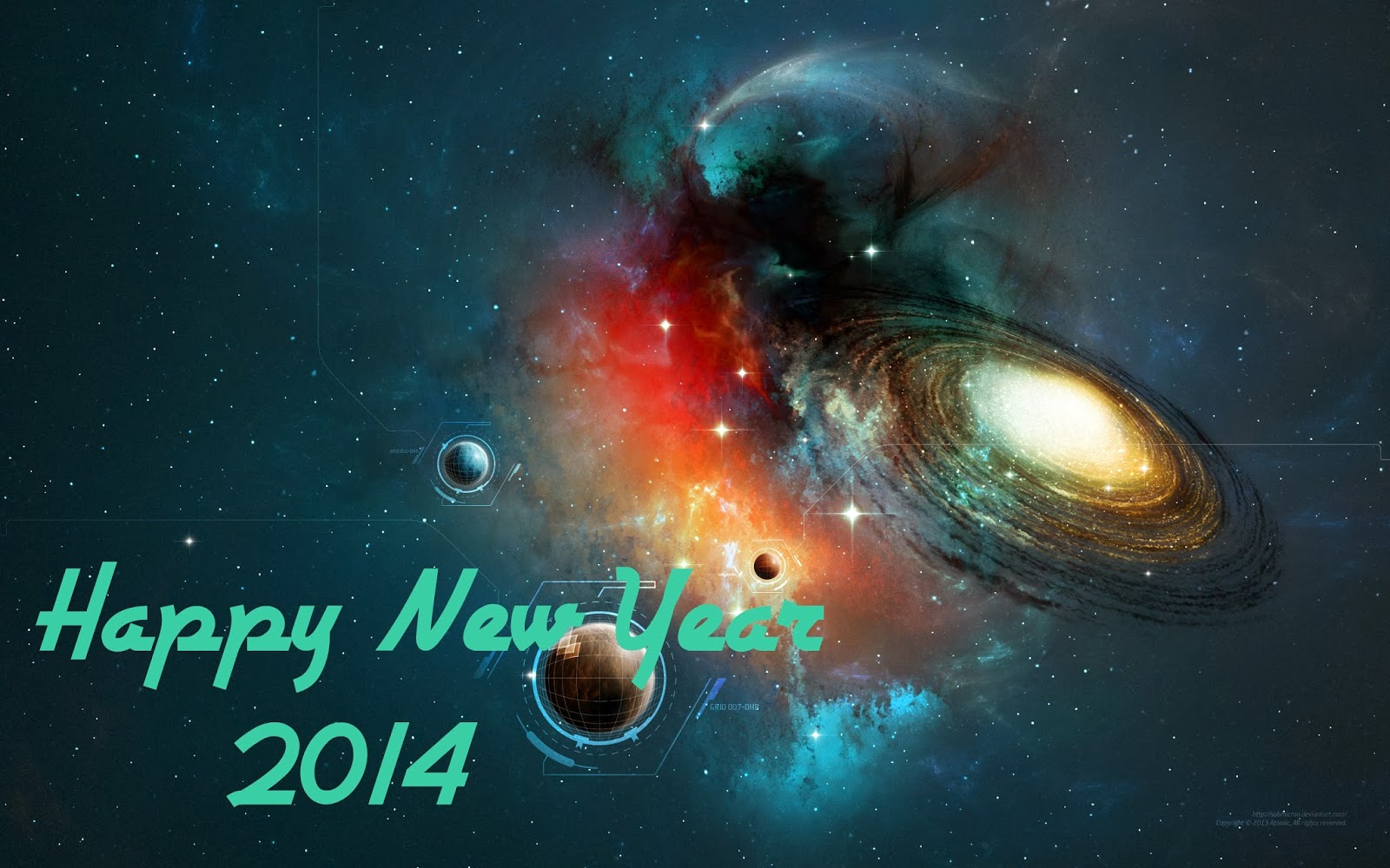 2014 Hd Wallpapers: Happy New Year 2014 Wallpaper