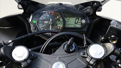 Yamaha YZF-R3 speed mitor