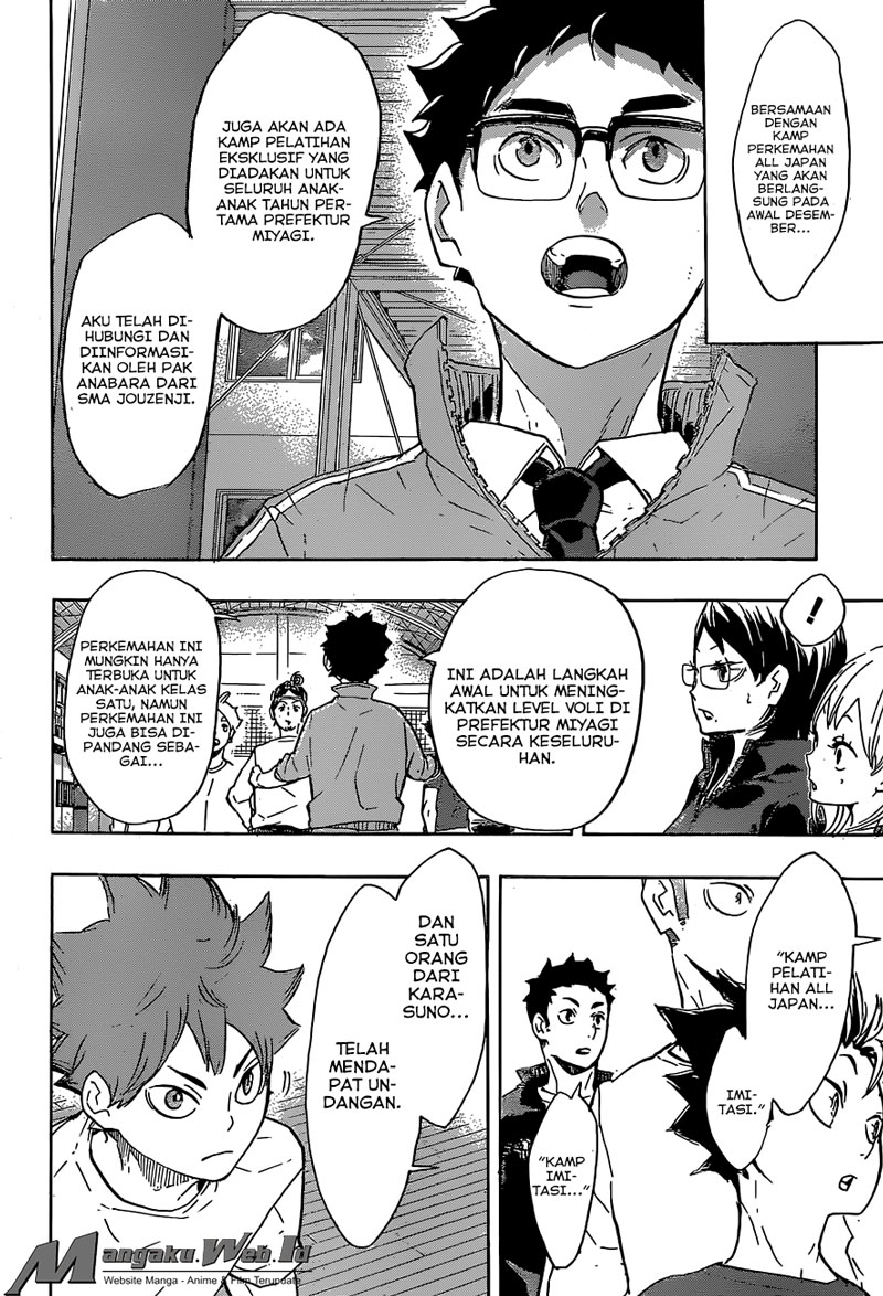 Haikyuu Chapter 208-7