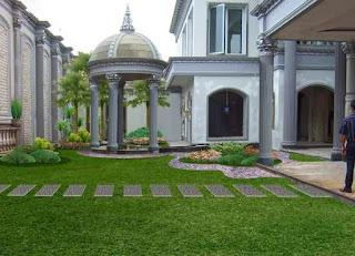 Tukang taman kalimantan, Desain taman kalimantan