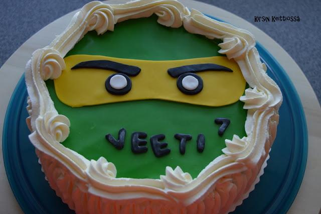 Lego Ninjago - kakku