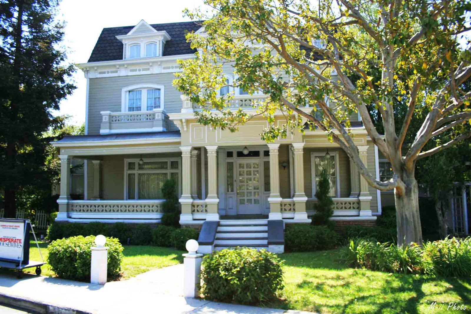 Maison Wisteria lane Desperate Housewives Universal Studios Hollywood