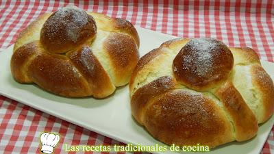 Receta fácil de pan de muerto casero