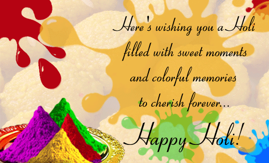 Happy Holi 2016 Short SMS in Hindi