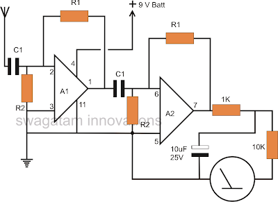 How to Make a Non Contact AC Mains Phase Detector