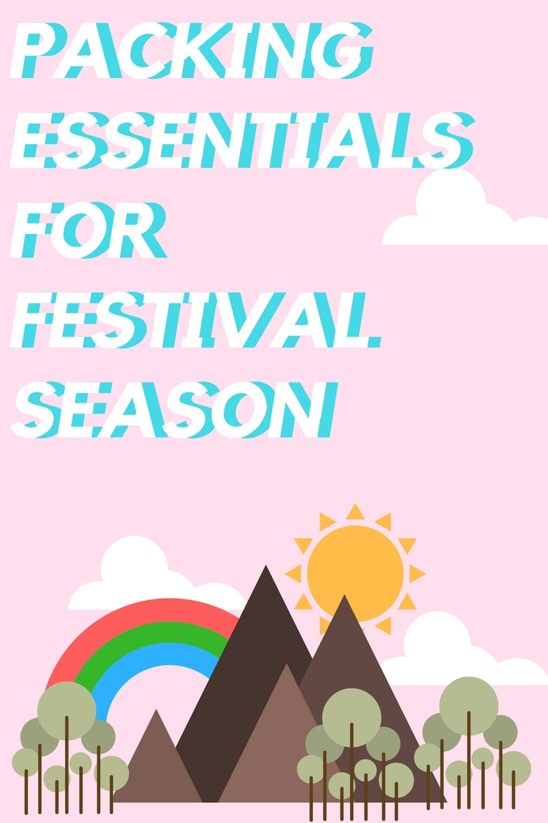 packing essentials for festival season, what to bring to a music festival, music festival