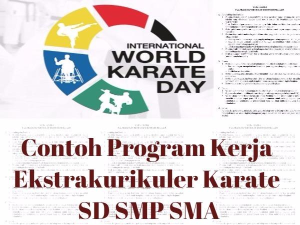 Program Kerja Ekstrakurikuler Karate