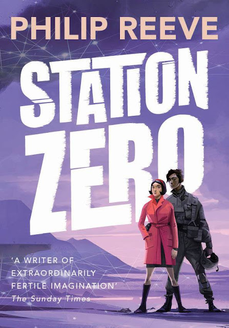 station zero cover by philip reeve - ian mcque