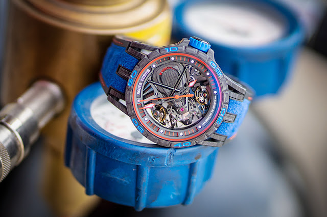 Excalibur Aventador S Blue to debut at Doha Jewellery and Watches Exhibition 2019