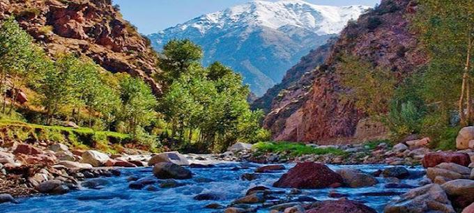 Journée dans l'Atlas marocain et les quatre vallées 69 €/pers