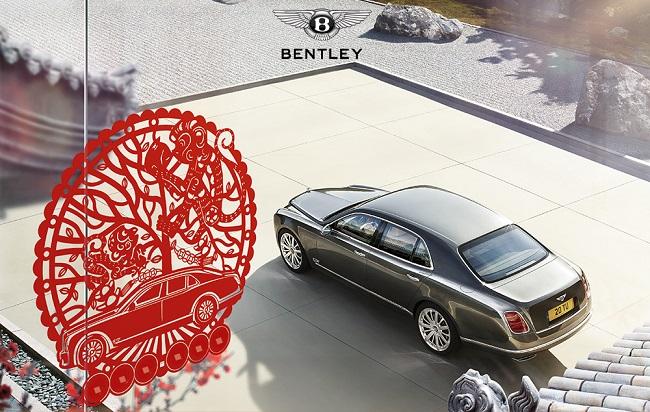 Phát tài phát lộc năm mới cùng dịch vụ Bentley Hà Nội