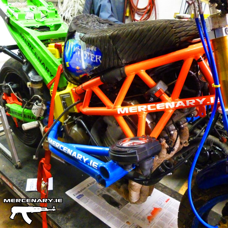 Kawasaki 636 Stunt Bike Wiring
