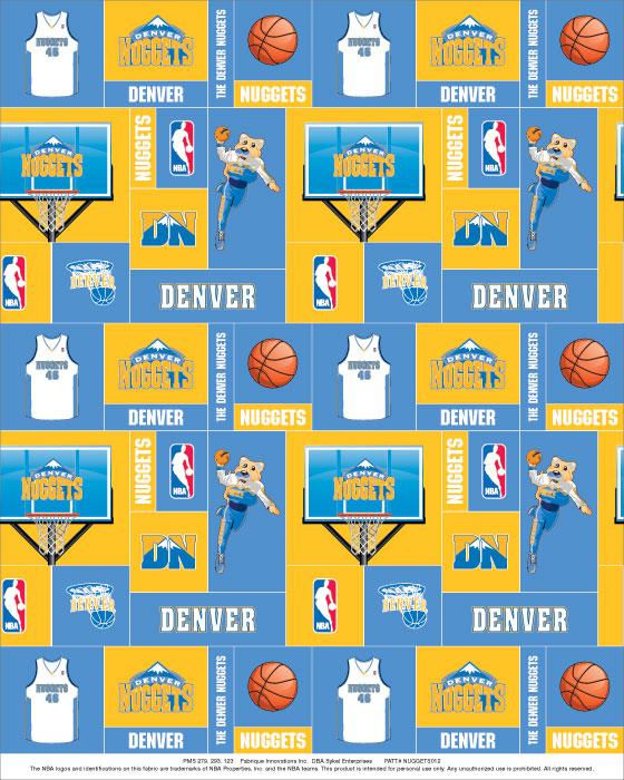 History Of All Logos: All Denver Nuggets Logos