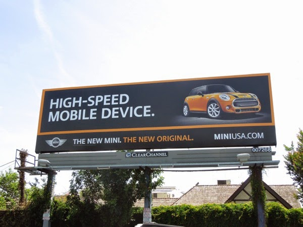 New Mini High-speed mobile device billboard