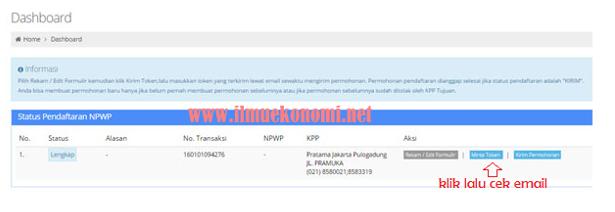 Cara Membuat Atau Bikin Pendaftaran NPWP (Nomor Pokok Wajib Pajak) Secara Online Lengkap Beserta Syarat-Syaratnya