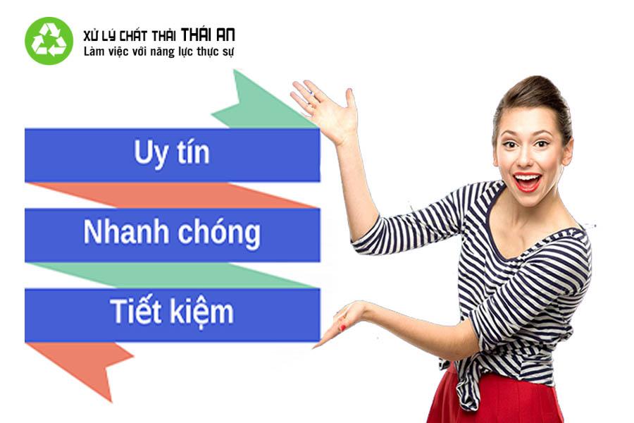 Công ty xử lý chất thải nguy hại tại tphcm Thái An