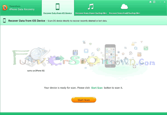 Tenorshare iPhone Data Recovery Full Version