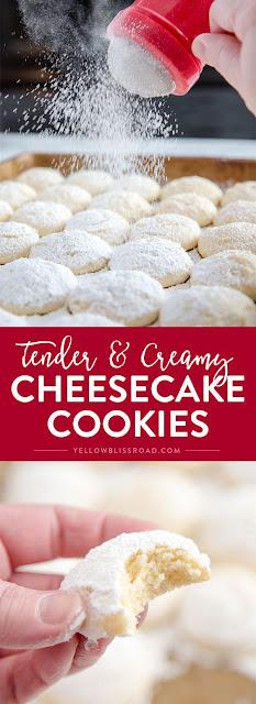 Cheesecake Cookies (Re-do)