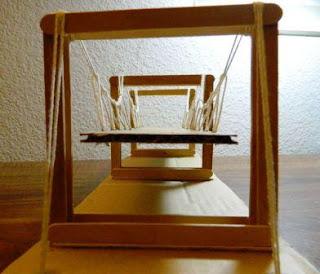 Bikin Sendiri Miniatur jembatan Antar pulau dari Stik Es Krim dan Kardus Bekas