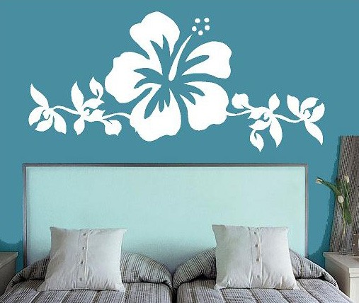 Vinilos adhesivos para dormitorios vinyl decal bedroom for Decoracion con vinilos
