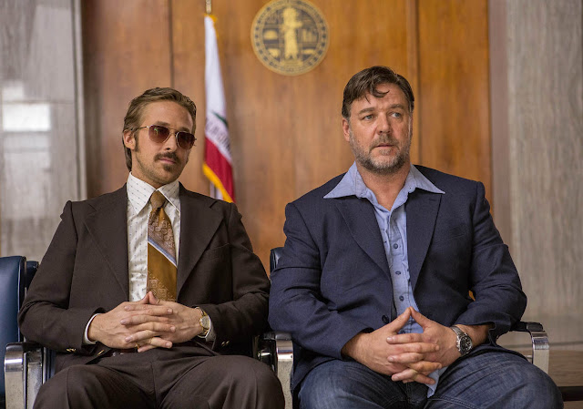 The Nice Guys Ryan Gosling & Russell Crowe
