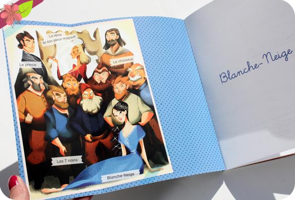 Les contes du CP : Blanche-Neige de Magdalena et Maud Bihan - éditions Flammarion