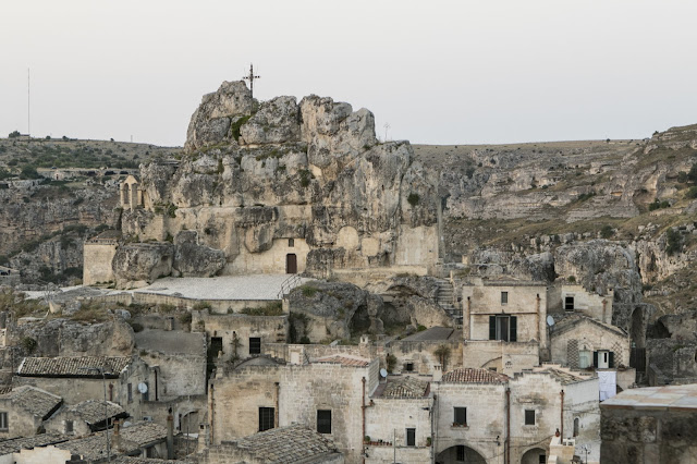 Panorama di Matera vicino Palazzo Lanfranchi-Matera