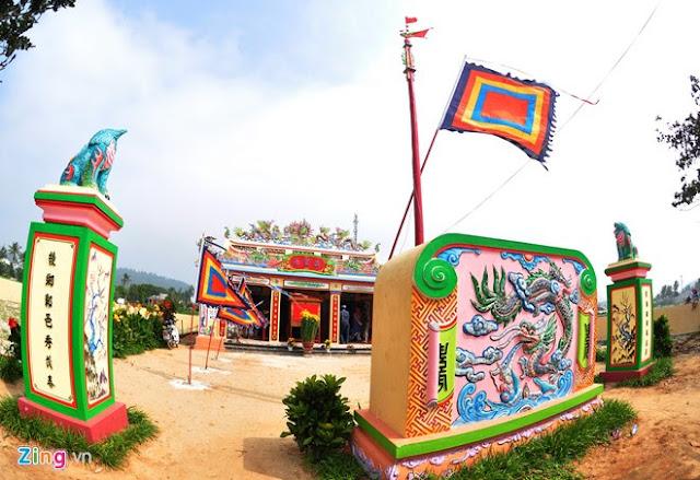 'Bảo tàng' xương cá voi ở Lý Sơn - Hình 1