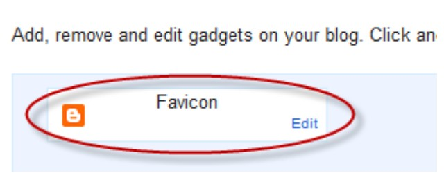 How to Change Blogger Favicon