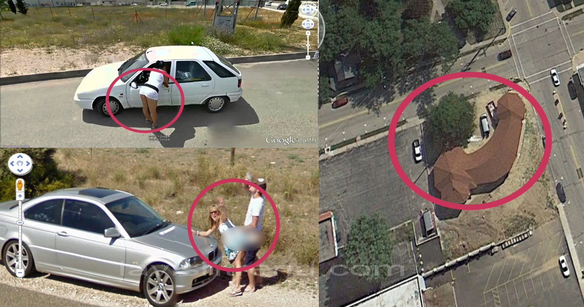 Get Rocks 10 Crazy Things Found On Google Maps