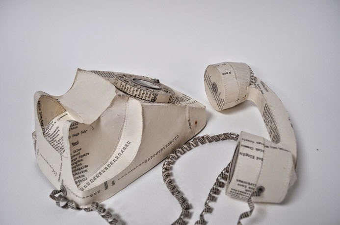 13-Telephone-2-Jennifer-Collier-Stitched-Paper-Sculptures-www-designstack-co