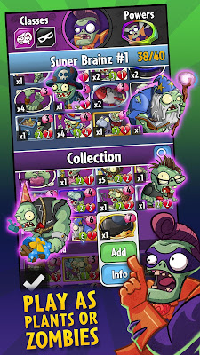 Plants vs Zombies Heroes Apk Mod