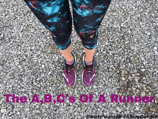 The A B,C's Of A Runner