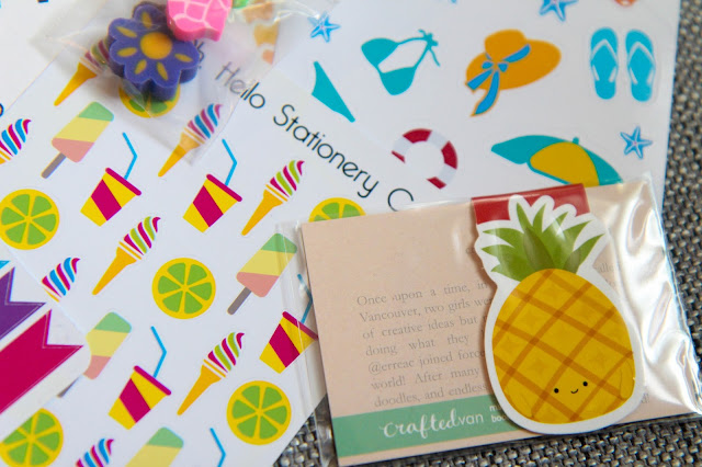 Oh, Hello Stationery June Sticker Subscription