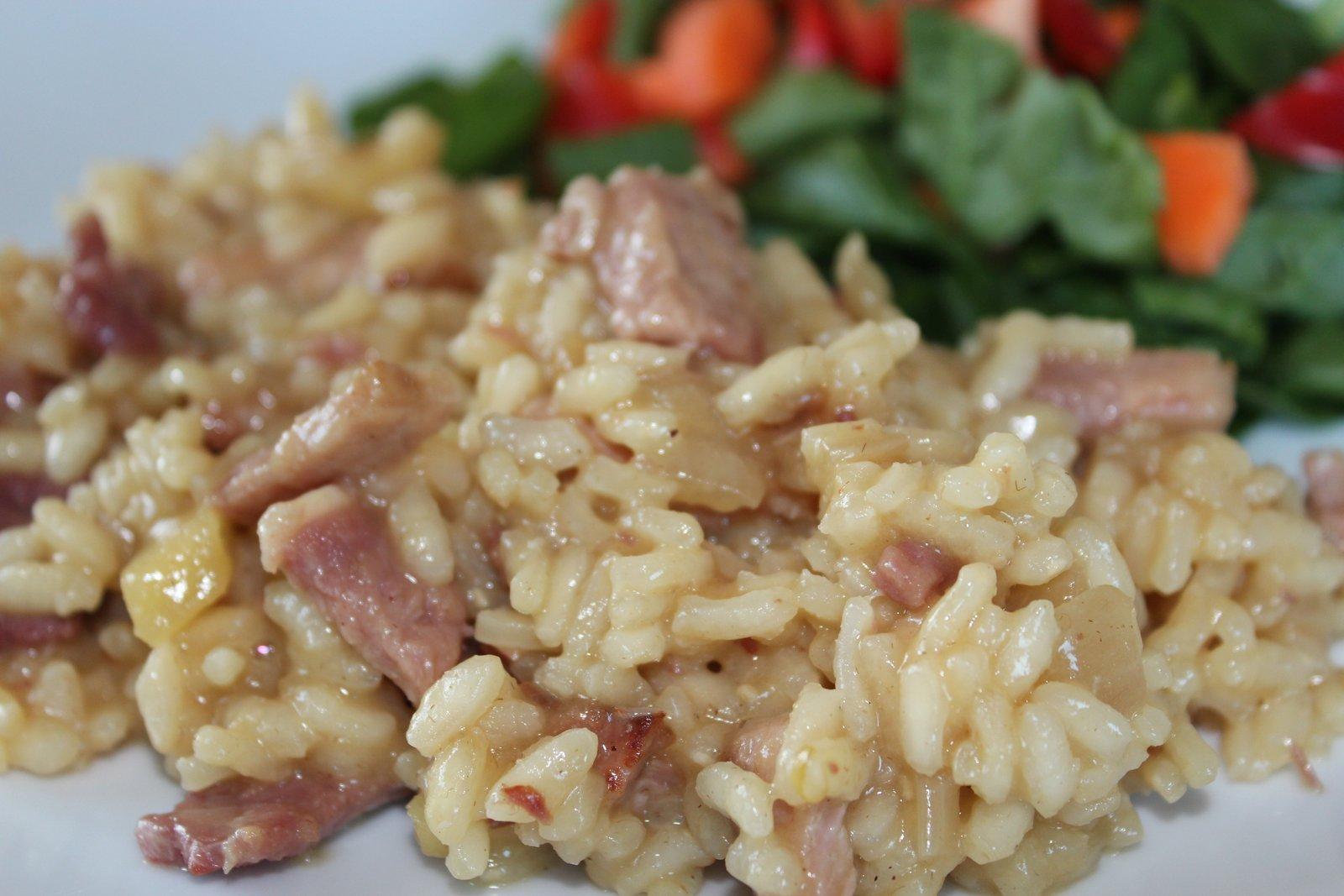 media hora para cocinar risotto al microondas On cocinar risotto