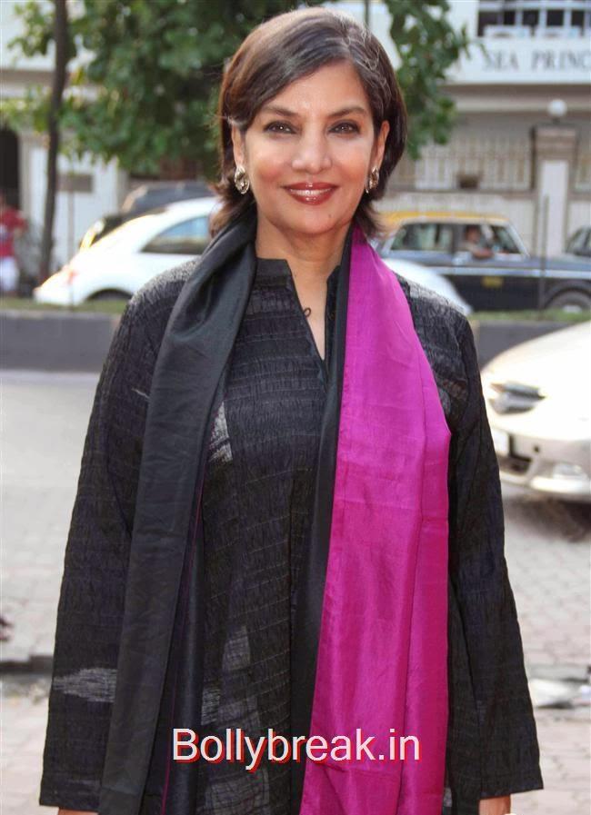 Shabana Azmi, RR Jewellery Line Launch