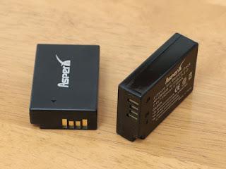 Asperx LP-E17リチウムイオン充電式バッテリー&充電器セット