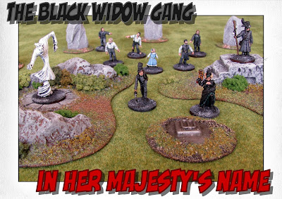 In Her Majesty's Name Company - The Black Widow Gang