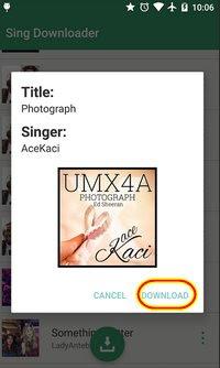 Aplikasi pendownload lagu video karaoke by smule gratis untuk android terbaru
