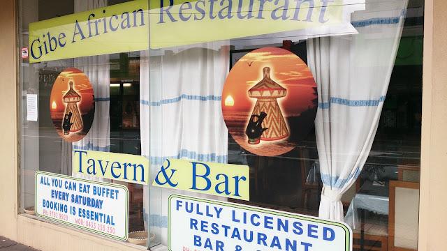 Gibe African Restaurant, Dandenong