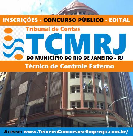 Concurso Tribunal de Contas do RJ - TCM-RIO