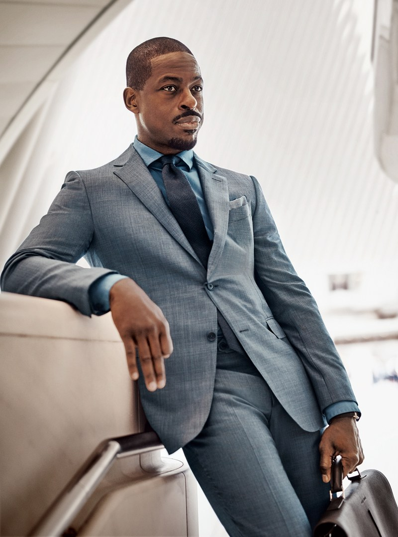 CRAZY COOL GROOVY!!!: STERLING K. BROWN On GQ MAG