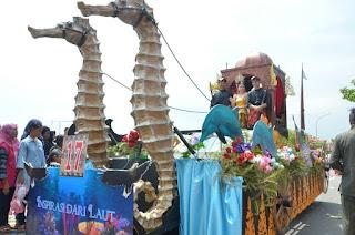 parade mobil hias festival bahari kepri 2017